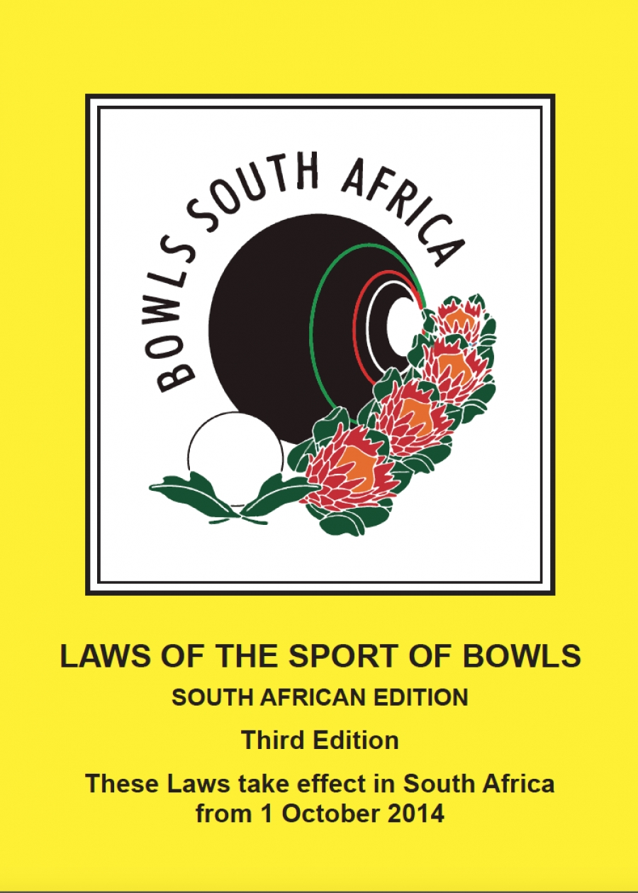 Laws of the sport of Bowls